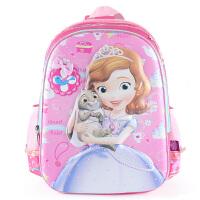 迪士尼 苏菲亚小学生儿童书包1-3年级女童双肩包 SS80074
