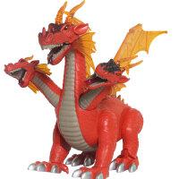 文盛  会走路发声电动恐龙玩具  三头卧龙5309