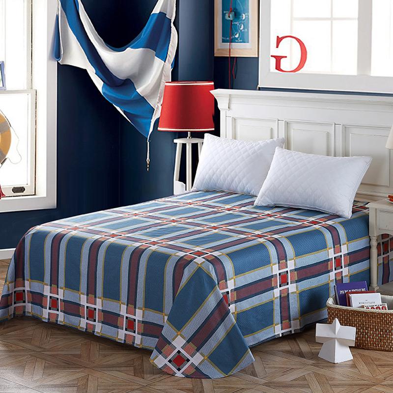 当当优品 纯棉斜纹床上用品 床单200*230cm 潮流前线当当自营 100%纯棉 不易褪色 0甲醛 透气防潮