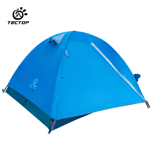 TECTOP 户外双层3-4人手搭帐篷 PJ6460