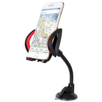 GXI 苹果iPhone 6专用手机吸盘支架 iPhone 7 plus车载导航支架 iPhone 5/5S长型吸盘支架 三星/小米/华为导航支架 旅行自驾必备