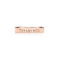 【当当自营】 蒂芙尼(Tiffany & Co.)蒂凡尼 新款18K玫瑰金戒指GRP07913