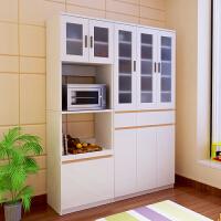 定制阳台储物碗柜 酒柜 客厅厨房餐边柜 高大立式玻璃门 组合柜子