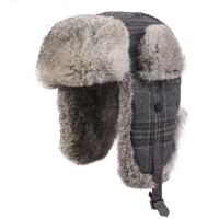 时尚男士冬韩版潮加厚棉帽子男滑雪帽  新品兔毛雷锋帽棉帽子雷锋帽