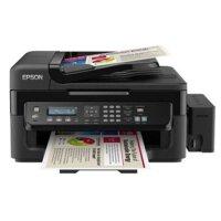 爱普生(EPSON) L551 墨仓式网络传真一体机照片打印机墨仓式一体机