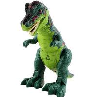 文盛  电动恐龙 仿真恐龙 男孩逼真会走路有声光玩具 霸王龙5302