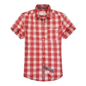 杰克琼斯时尚百搭短袖衬衫17-4-3-213105048070