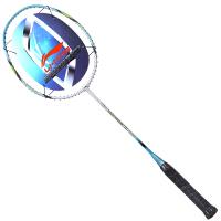 李宁lining羽毛球拍单拍全碳素男女超轻羽毛拍(已穿线) 升级版A710 送手胶