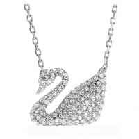 【当当自营】 施华洛世奇(SWAROVSKI)经典款优雅高贵天鹅吊坠项链锁骨链女士 情人节 生日礼物