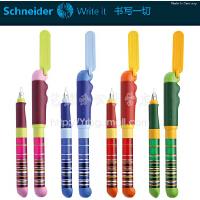 德国SCHNEIDER/施耐德BASE KID很细彩虹成长钢笔学生练习钢笔