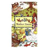英文原版 Wee Sing Mother Goose [With CD (Audio)] 欧美经典儿歌:鹅妈妈童谣(附CD)