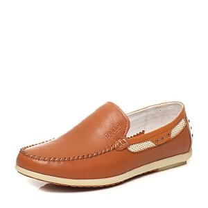 Belle/百丽专柜同款夏季时尚休闲男单鞋4KS01BM6
