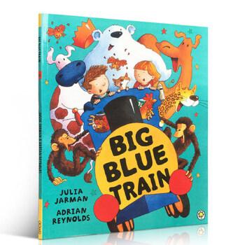 blue train 蓝火车 儿童英语学习动物认知 3-6岁阅读趣味故事儿童绘本