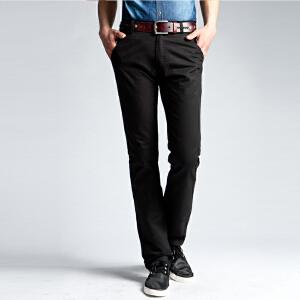 1号牛仔 男士直筒休闲裤 男修身小脚韩版裤子男裤