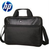 HP 惠普 单肩背包商务笔记本电脑包手提公文包14寸/15寸 尼龙加厚学生书包旅行包 男士女士通用 E4W74PA