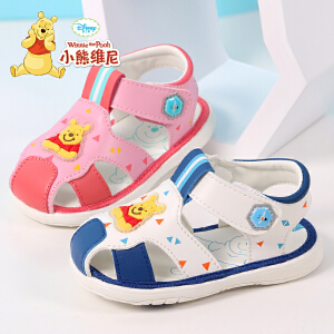 小熊维尼童鞋 宝宝学步鞋2017夏季新款婴儿鞋软底鞋