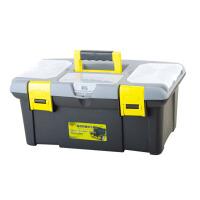 帕司特   五金工具箱 塑料家用维修多功能大号车载收纳箱工具盒美术箱