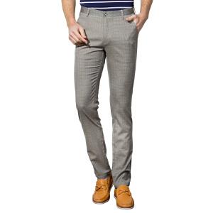 1号牛仔 男装2016春季新款青年男士休闲裤子男英伦商务韩版修身长裤