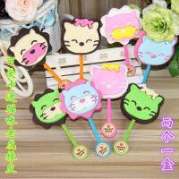 韩国创意文具可爱棒棒糖橡皮卡通巧克力创意玩具橡皮擦小学生奖品
