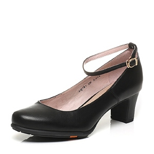 BATA/拔佳春季专柜同款绵羊皮女单鞋(超软)AQ703AQ6