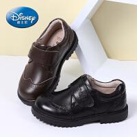 迪士尼小熊维尼童鞋 男童皮鞋2017春夏新款3-15岁儿童皮鞋儿童运动鞋休闲鞋
