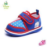 【99元两双】迪士尼童鞋2017年儿童旅游鞋男女童宝宝鞋婴童米奇米妮卡通休闲鞋DH0081