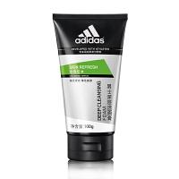 阿迪达斯(adidas)男士洗面奶清洁控油洁面乳酷能醒肤冰爽劲透控油活力保湿男士冰爽100g3款任选