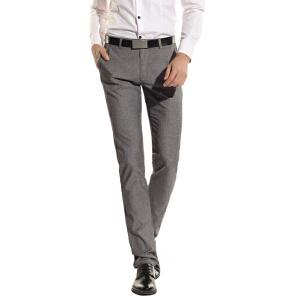 1号牛仔 春夏款男士免烫男裤宽松直筒休闲裤春季长裤子薄