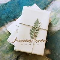 设计师设计手工包装盒精美礼盒植物装饰复古花纸礼品单拍不发货