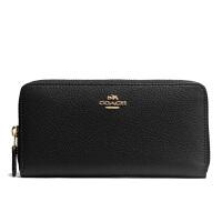 【当当自营】蔻驰(COACH)时尚女士经典款拉链手拿包钱包卡包 F57215