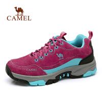 camel骆驼户外登山鞋 女款 新款 休闲鞋徒步鞋子