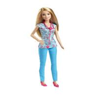 芭比娃娃BARBIE职业套装女孩过家家玩具科学家运动员