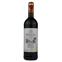 [当当自营] 法国进口 贝里斯 美乐红葡萄酒 750ml