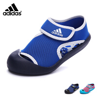 Adidas/阿迪达斯童鞋17年夏季新款露趾包脚沙滩鞋中童凉鞋男女童 BY2237