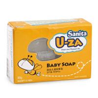 韩国Sanita U-ZA婴幼儿透明香皂 天然保湿婴幼儿沐浴皂90g
