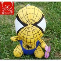 Q版复仇者联盟 蜘蛛侠 毛绒玩具公仔布娃娃 创意生日礼物送女友