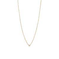 【当当自营】 蒂芙尼(Tiffany & Co.)耀眼钻石坠18K金项链GRP00437