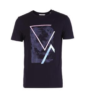 杰克琼斯/JackJones夏季新款印花T恤-39-3-1-217101504E39
