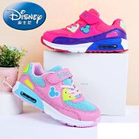 迪士尼儿童鞋气垫鞋运动鞋2016春季新款休闲鞋缓震跑步鞋女童鞋