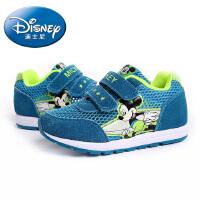 【99元两双】迪士尼童鞋儿童鞋运动鞋2016春夏新款休闲鞋缓震镂空跑步鞋