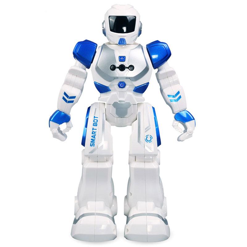 新威尔 机械战警智能遥控机器人充电玩具 智能编程手势感应儿童玩具