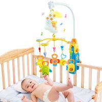 橙爱优乐恩 月亮宝宝音乐旋转床铃初生宝宝玩具摇铃牙胶益智婴儿玩具0-1岁