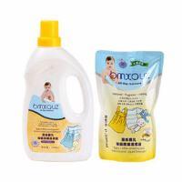 【当当自营】蓓氏婴儿洗衣液1000ML送500ML洗衣液1袋 宝宝洗衣液
